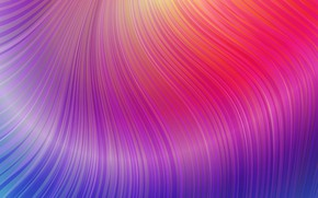Wallpaper Wave, Abstraction, Abstract Waves, Colorful Waves
