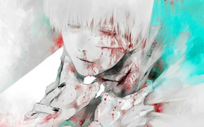 Picture hands, art, guy, Tokyo Ghoul, Tokyo Ghoul