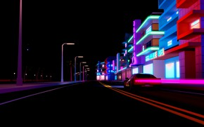 Wallpaper Synthpop, Synth, Retrowave, Electronic, Darkwave, Auto, Machine, Synth pop, Synthwave, Neon, Background, Sinti, Synth-pop, Road, ...
