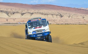 Picture the way, The sky, Sand, Nature, Sport, Speed, Race, Master, Lights, Beauty, Russia, Kamaz, Rally, …