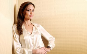 Picture smile, actress, Angelina Jolie