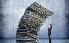 Picture papers, work, fatigue, stress, responsibility