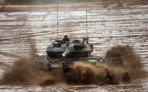 Picture weapons, tank, Leopard 2 A7