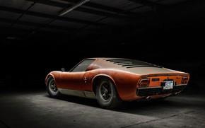 Picture Lamborghini, Dust, Machine, Car, Supercar, Old, Lamborghini Miura, P400, Jeremy Cliff, Lamborghini Miura P400, Miura …