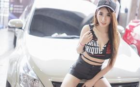 Picture face, style, figure, cap, Asian, beauty