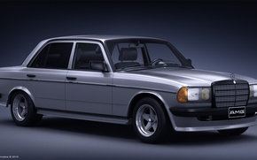 Picture AMG, Mercedes - Benz, w123