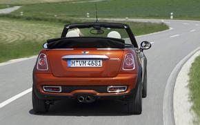 Picture road, Cooper, convertible, MINI