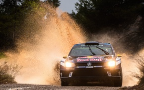 Picture lights, Volkswagen, WRC, Rally, Polo