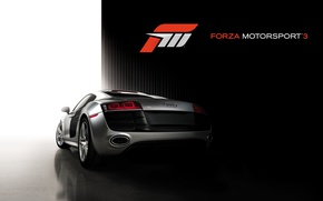 Picture Audi, Game, Forza Motorsport 3