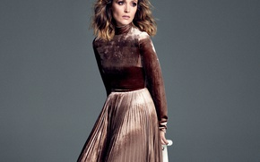 Picture look, girl, style, skirt, makeup, jacket, fashion, style, Rose Byrne, Rose Byrne