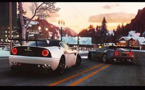 Picture auto, the game, Alfa Romeo, The Crew, GameArt, retouch, 8C Competizione
