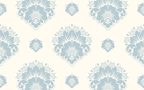 Picture white, flowers, grey, texture, background, pattern, seamless