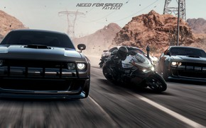 Wallpaper Need For Speed, action, mustang, race, PAYBACK, moto, photoshop, racing, dodge challenger, cars, simby, art, ...