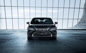 Wallpaper sedan, 2018, ES 250, front view, Lexus
