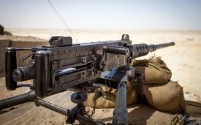 Picture bullets, desert, sand, Browning, .50, machine gun, ammunition, M2HB, M2A1, suan