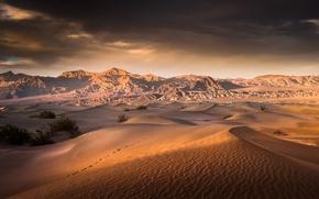 Wallpaper Death Valley, CA, desert, USA