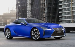 Picture Lexus, 2018, Limited Edition, LC 500, Morphic Blue