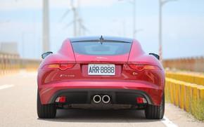 Picture red, design, style, Jaguar, Jaguar, rear view