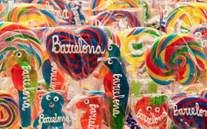 Picture background, candy, lollipops