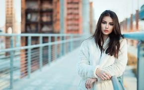 Wallpaper look, girl, model, Ester