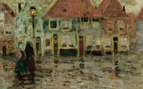 Picture home, picture, area, lantern, the urban landscape, Henry Le Sedane Products, Henri Le Sidane, The …