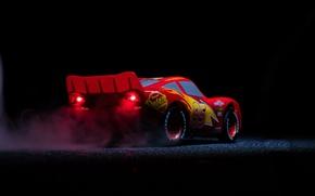 Wallpaper Disney, animated film, Pixar, car, Lightning McQueen, Cars 3, animated movie, Cars, red