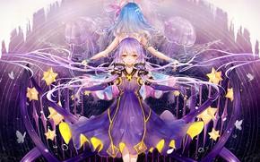 Picture girls, jellyfish, Vocaloid