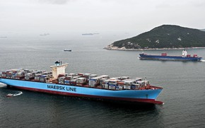 Picture Island, Boat, The ship, Cargo, A container ship, RAID, The pilot, Container, Maersk, Maersk Line, …