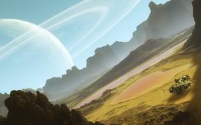 Picture space, svyatoslav lee, cosmic landscapes, spacescape