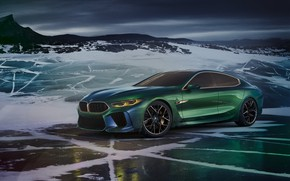 Wallpaper VMB, BMW, Gran Coupe, Concept, the concept