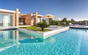 Picture the city, Villa, pool, House in Ibiza
