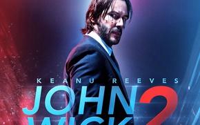 Wallpaper cinema, John Wick, strong, blood, John Wick Chapter 2, movie, film, powerful, John Wick 2, ...