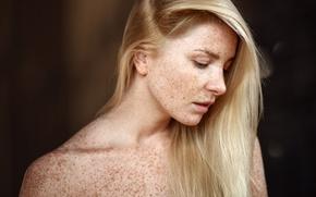 Picture portrait, freckles, No One Nicholas, Pauline Cult