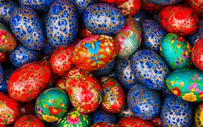 Picture texture, India, Easter, Easter eggs, fair, Haryana