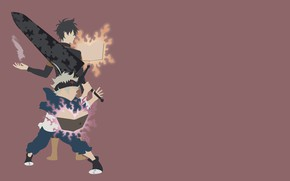 Picture sword, weapon, anime, boy, ken, blade, manga, oni, mahou, japonese, by sephiroth508, madoshi, Black Clover, ...