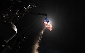 Picture Mediterranean Sea, 2017, USS Porter, DDG 78, April 7
