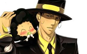 Picture anime, Lambo, Lambo, Reborn, Katekyo Hitman REBORN!, Reborn