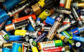 Picture brands, waste, batteries, lithium