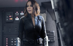 Wallpaper woaman, agent, spy, uniform, brunette, Daisy Johnson, girl, S. H. I. E. L. D., SHIELD, ...