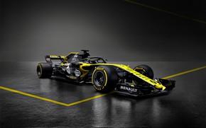 Picture Renault, formula 1, the car, Formula 1, Reno, 2018, R.S.18