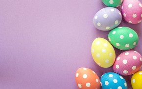 Picture spring, Easter, wood, spring, Easter, eggs, decoration, Happy, the painted eggs