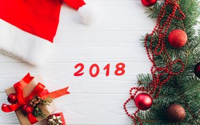 Picture holiday, new year, decoration, 2018, decor