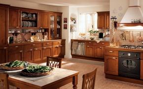 Picture style, room, Villa, interior, kitchen