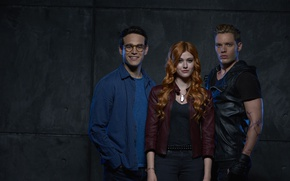 Picture look, smile, actors, the series, Movies, Shadowhunters, Shadowhunters
