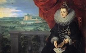Picture portrait, picture, Peter Paul Rubens, Pieter Paul Rubens, Archduchess Of Austria Isabella Clara Eugenia