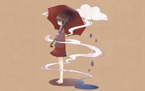 Picture anime, art, girl, Yume Nikki