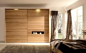 Wallpaper room, interior, bedroom