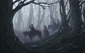 Picture Trees, Forest, Warriors, Fiction