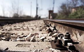 Picture road, background, railroad