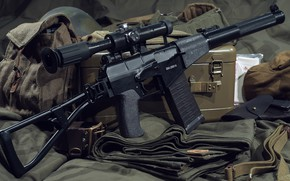 """Picture weapons, machine, weapon, The as """"Val"""", assaul rifle, AS «Val»"""